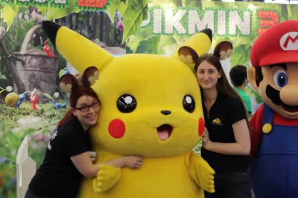Loukno , Sydoline & Pikachu